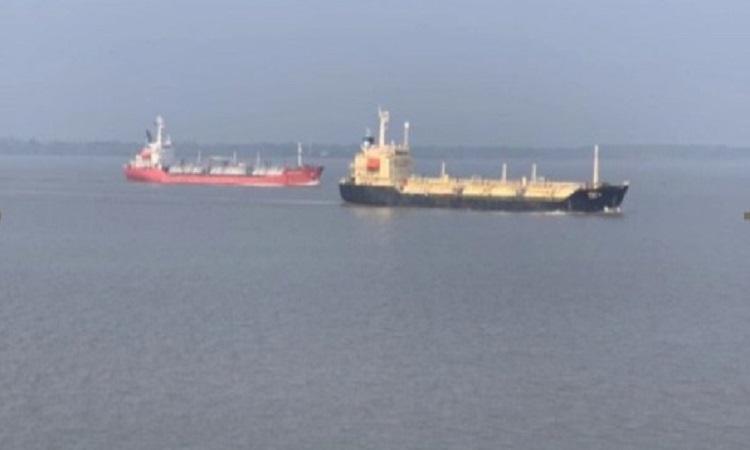 Mongla port has started to feel the development.